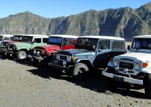 Sewa Hardtop dan Jeep Bromo
