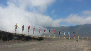 Family Fun Hiking Mount Bromo