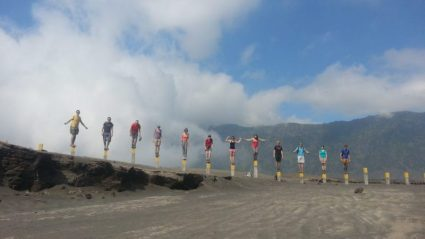Family Fun Hiking Mount Bromo