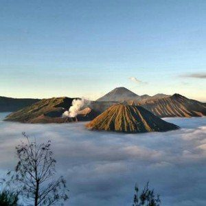 Package Mount Bromo Madakaripura Waterfall and Snorkling at Gili Ketapang Island
