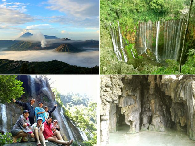 mount bromo tumpak sewu waterfall