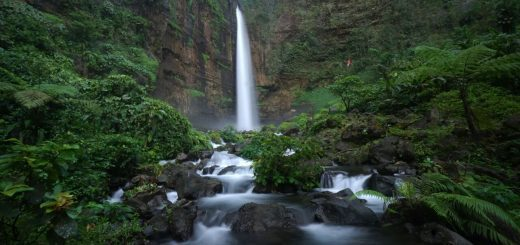 Kapas Biru Waterfall Tour Package